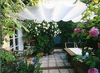 Garten ein gartenzimmer f r mich allein zuhause erleben das online magazin f r haus und - Windsegel garten ...